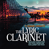 The  Lyric Clarinet - cover